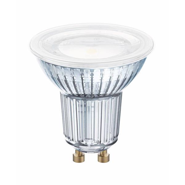OSRAM LED STAR 4,3-W-GU10-LED-Lampe mit Glas-Reflektor, warmweiß, 120°