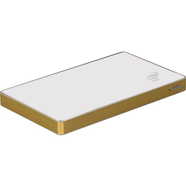 Amerry Mini-PC mit Intel Z3735F CPU, 2 GB RAM, Windows 10, Aluminiumgehäuse, 32 GB Flash