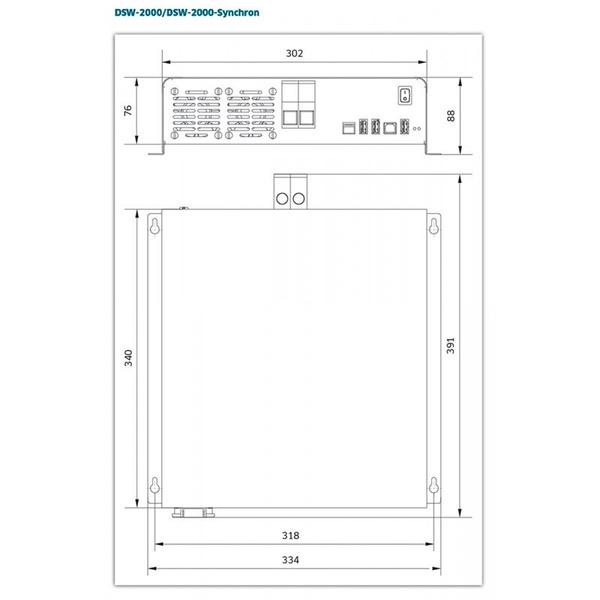 IVT Digitaler Sinus Wechselrichter DSW-2000/24 V, 2000VA