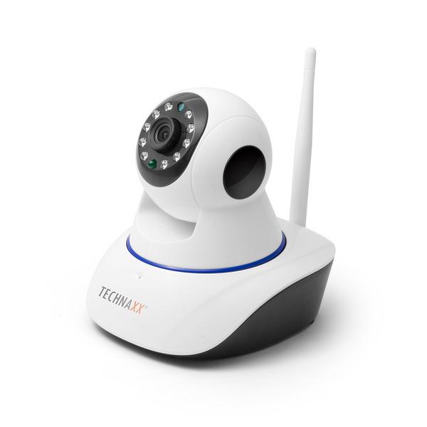 Technaxx Netzwerk IP-Innenkamera TX-23+ mit 10 m IR-Reichweite