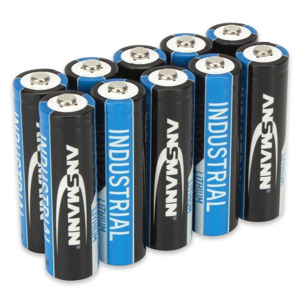 Ansmann Lithium-Batterie Mignon AA, 10er-Pack