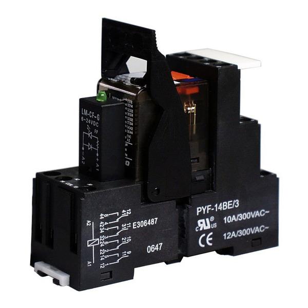 Relais, 230 V AC, 4 Wechsler, SHC243SA230G01