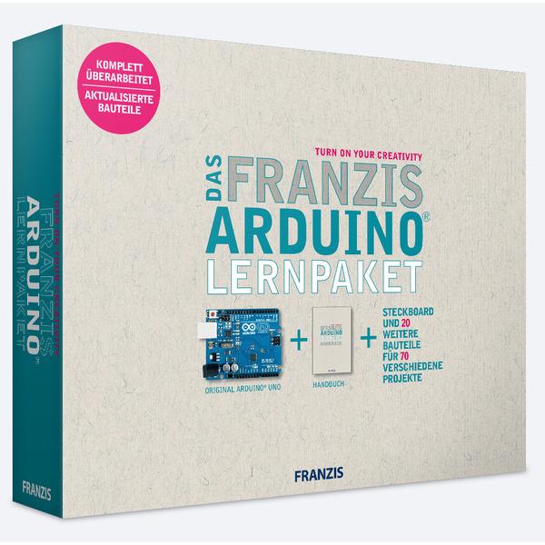 FRANZIS Arduino Lernpaket + Arduino UNO-Platine