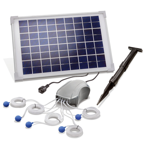 esotec Solar-Teichbelüfter-Set Power Air S