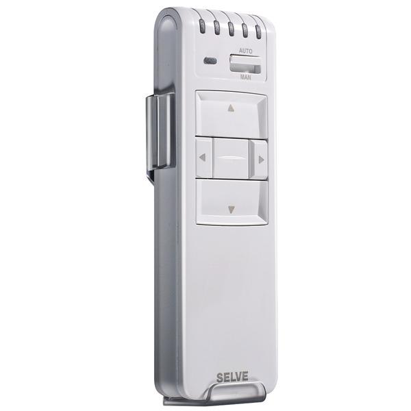Selve 1-Kanal-Funk-Handsender für Selve Funk-Rohrmotoren, bidirektional, weiß