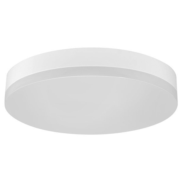 24-W-LED-Deckenleuchte Office Round, warmweiß, IP44