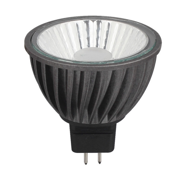 CV-Lighting HALED III 9-W-GU5,3-LED-Lampe, warmweiß (3000 K), dimmbar, 36°, 12 V