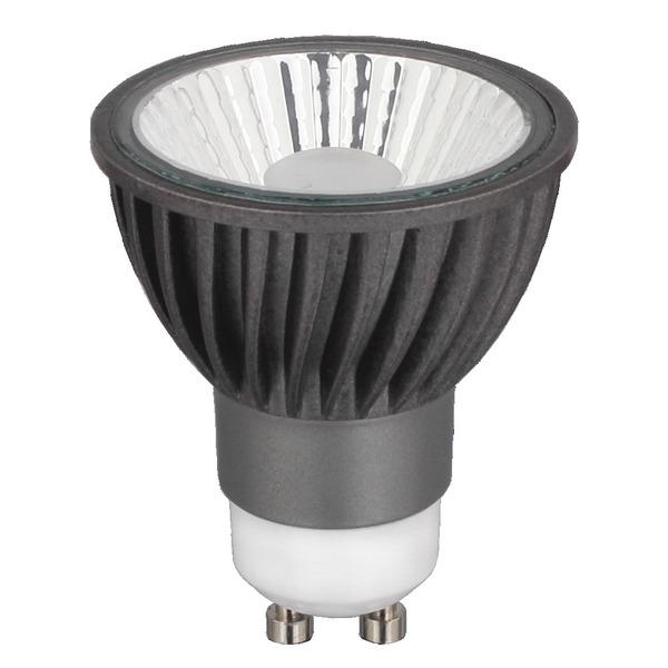 CV-Lighting HALED III 9-W-GU10-LED-Lampe, warmweiß (3000 K), dimmbar, 36°
