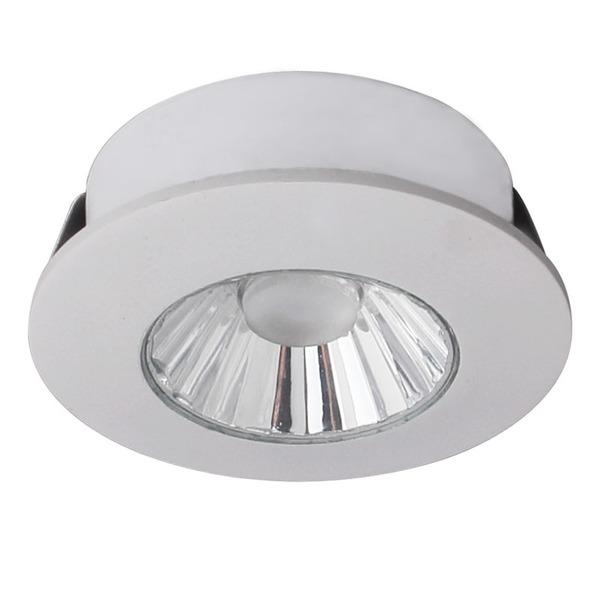 CV-Lighting 4-W-LED-Downlight, warmweiß, sehr gute Farbwiedergabe, 36°, weiß, IP20