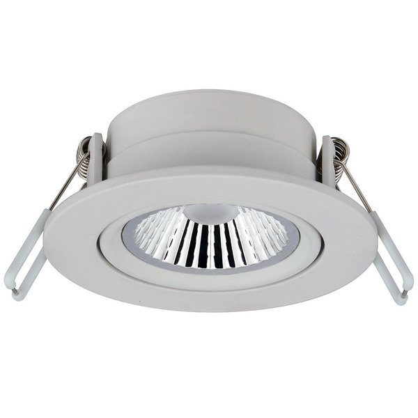 CV-Lighting 6-W-LED-Downlight, warmweiß, 36°, dimmbar (dim to warm), weiß