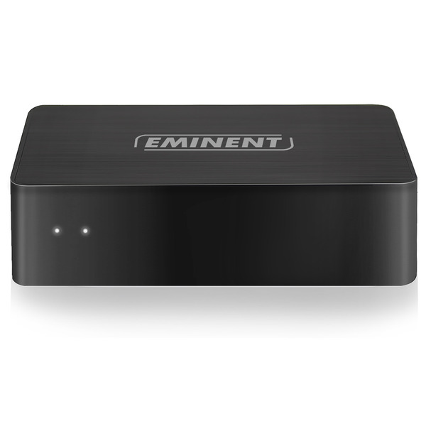 Eminent WiFi-Streaming-Adapter EM7415, Musik-Streaming über WLAN, integrierte Internetradio-Funktion