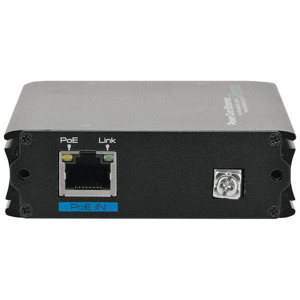 DIGITUS Professional Fast Ethernet PoE+ Verstärker, mit 1-port 10/100Mbps Eingang und 2-port 10/100