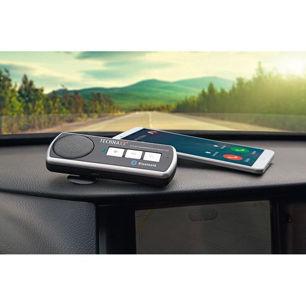 Technaxx Kfz-Bluetooth-Freisprecheinrichtung BT-X22, Bluetooth 4.0, Multipoint, schwarz