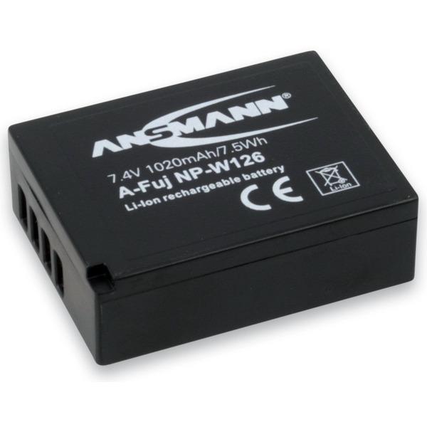 Ansmann Digitalkamera-Ersatzakku A-Fuj NP W 126 für Fujifilm NP-W 126