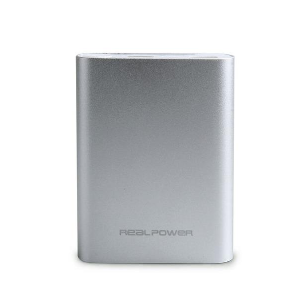 RealPower Powerbank PB12000C mit Schnellladefunktion