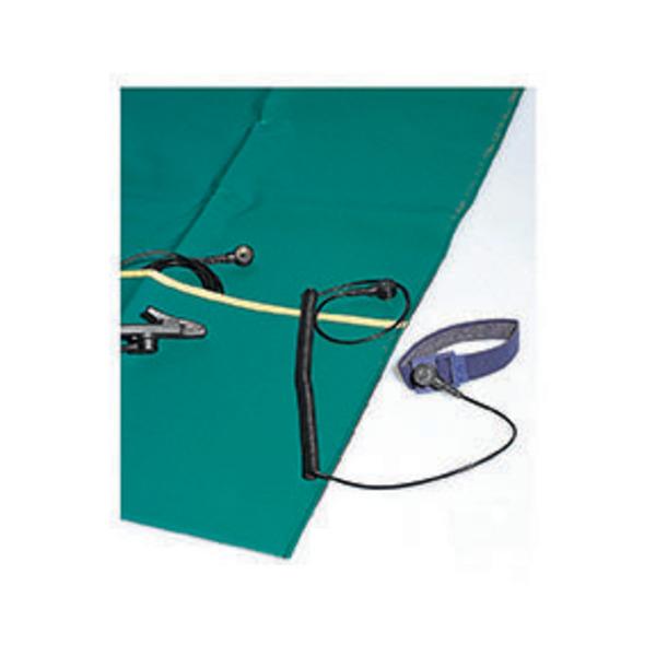 Bernstein ESD-Handling-Set Antistatikmatte, faltbar, 500 x 400 x 0,35 mm