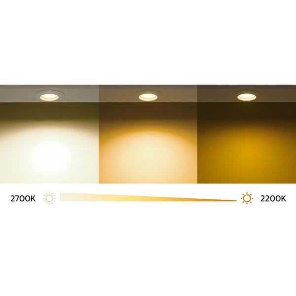 Philips MASTER LEDbulb 11-W-LED-Lampe E27, warmweiß, dimmbar mit DimTone-Effekt