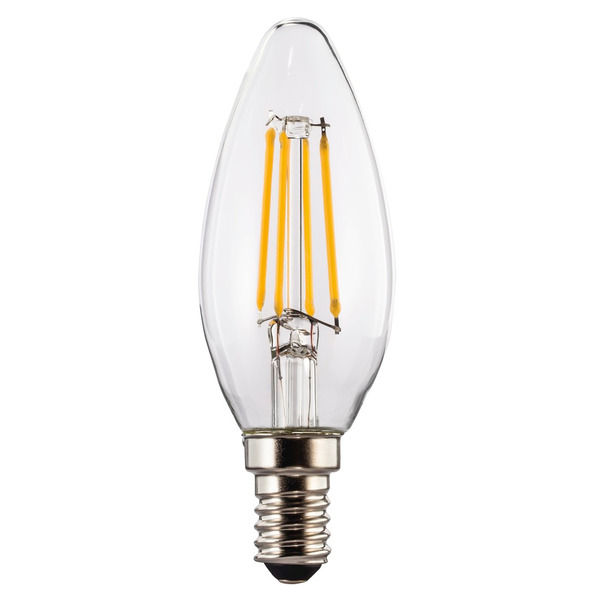 XAVAX 4,5-W-Filament-LED-Kerzenlampe E14, warmweiß