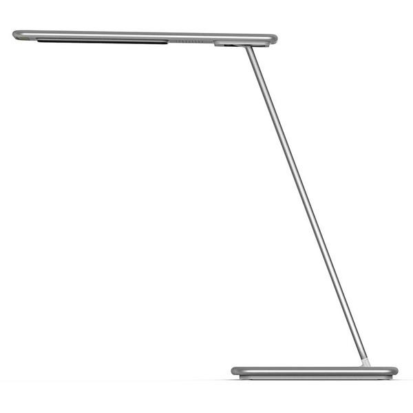 LEDmaxx 5-W-LED-Schreibtischleuchte mit einstellbarer Lichtfarbe, dimmbar, Induktions-Ladestation