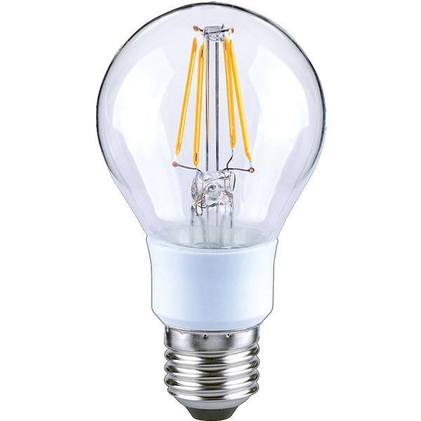 Arteko 7-W-Filament-LED-Lampe E27, klar, dimmbar