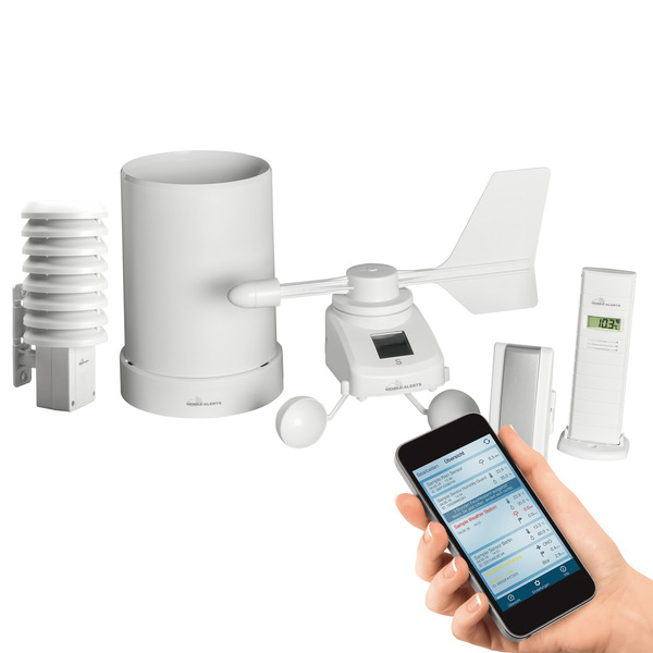 ELV Mobile Alerts Wetterset MA10061 + Thermo-/Hygrosensor
