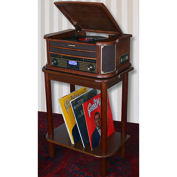 soundmaster Nostalgie-Stereo-Musikcenter NR545DAB, DAB+ Radio, Digitalisierungsfunktion