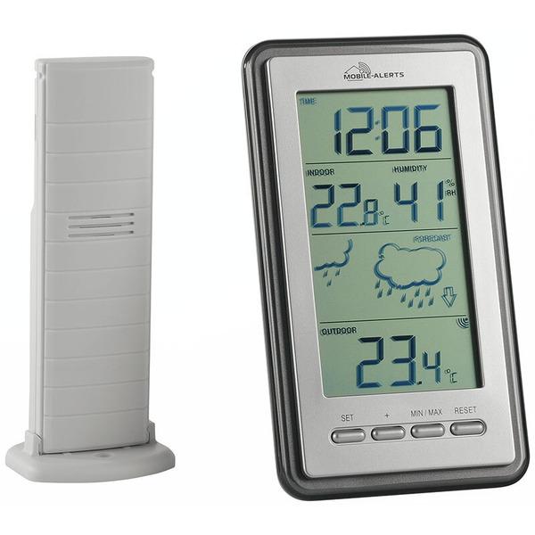 ELV Wetterstation MA10430 inkl. Außensensor, kompatibel mit Mobile-Alerts-System