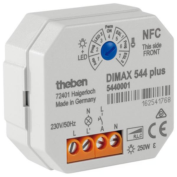 Theben Dimax 544 plus UP-Dimmer mit NFC-Schnittstelle