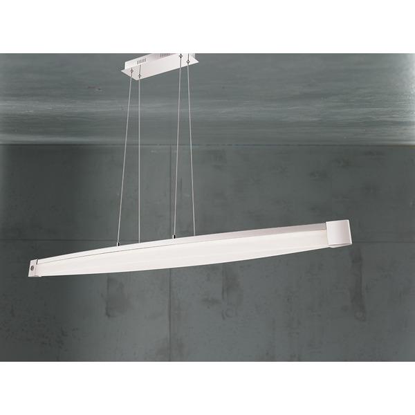 Wofi 40-W-LED-Pendelleuchte mit 3-Stufen-Dimmer, warmweiß
