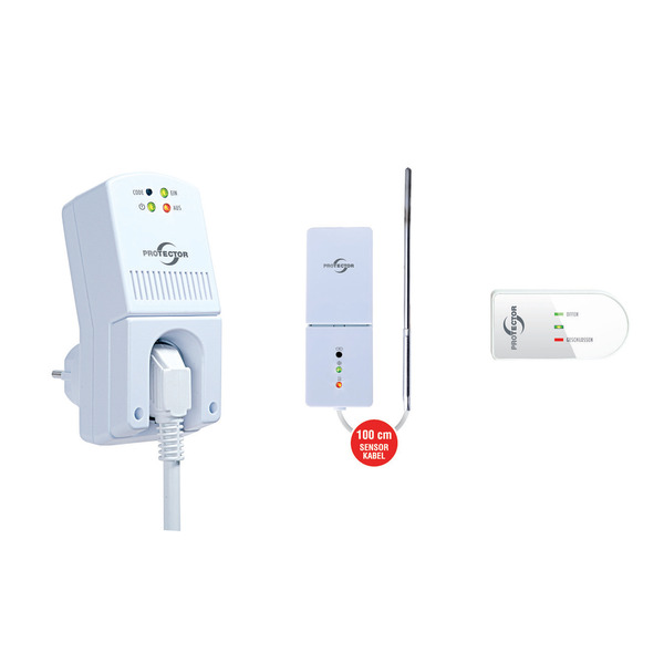 PROTECTOR AS-5030 Funk-Thermo-Abluftsteuerung mit Fenstersensor und Thermosensor, max. 1800 W