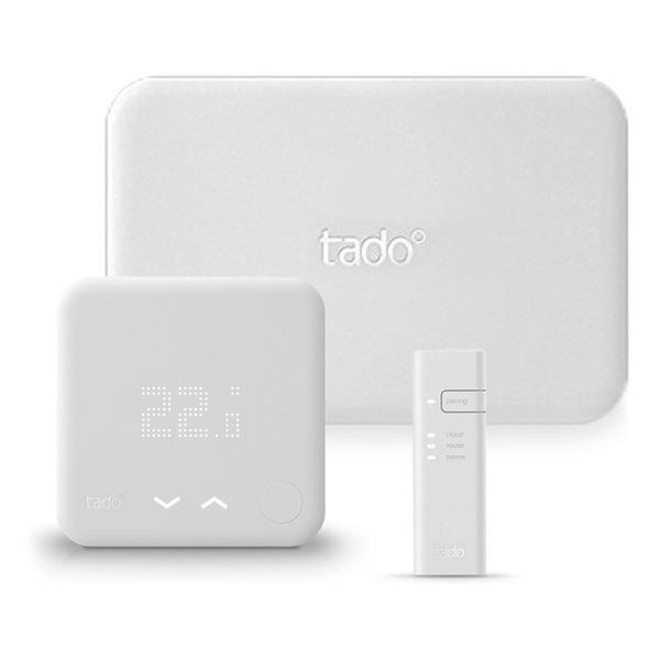 tado° Starter-Kit V3 mit Wandthermostat, Extension Kit und Internet-Bridge, Version V3