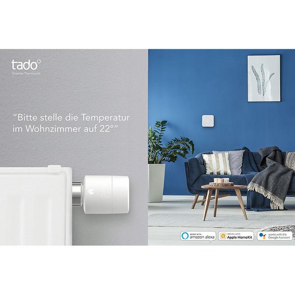 tado° Starter-Kit V3 mit 2 Funk-Heizkörperthermostaten und Internet-Bridge