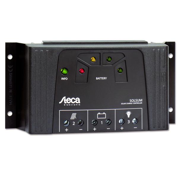 Steca Elektronik Solarladeregler Solarix 2525 12/24VDC, 25A, LED-Anzeige, IP32