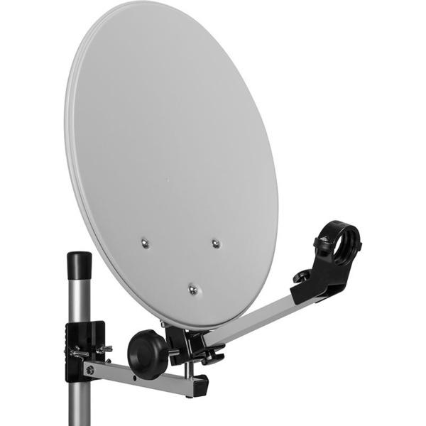 Megasat Mobile Sat-Anlage im Campingkoffer, mit LNB und Koaxialkabel