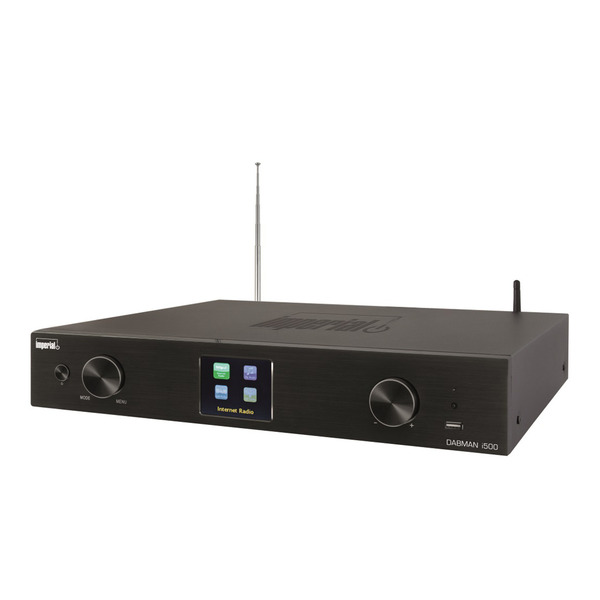 Imperial HiFi-Tuner DABMAN i500, UKW-/DAB+ Radio/Internetradio, DLNA-/UPnP-Streaming