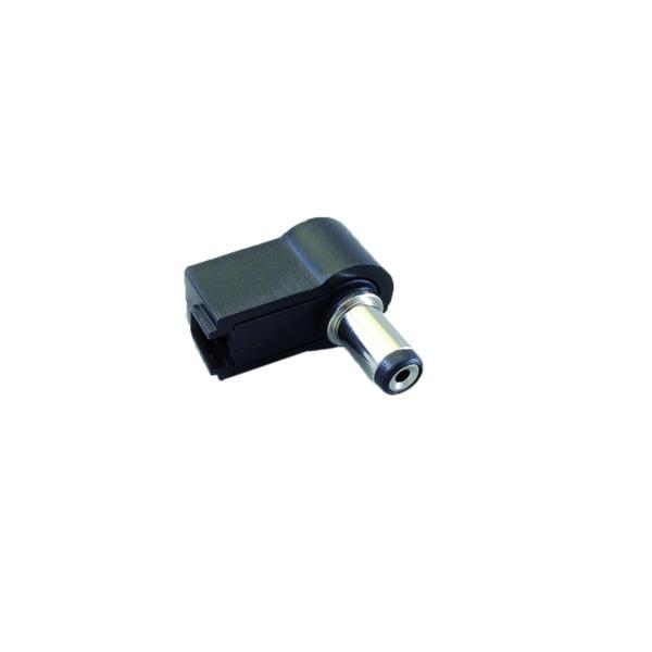 BKL Electronic DC-Hohlstecker, gewinkelte Ausführung, Innendurchmesser 2,50 mm, Außendurchmesser 5,5