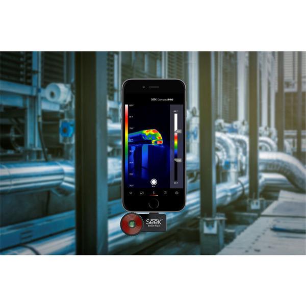 Seek Thermal CompactPRO FF - Wärmebildkamera mit Apple Lightning Anschluss für Apple Geräte