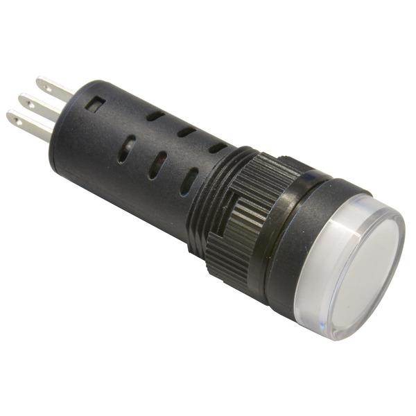 Barthelme LED-Signalleuchte, Einbaudurchmesser 16 mm, 230 V, rot/grün