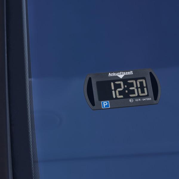 Needit Digitale Parkscheibe PARK MINI, automatische Parkzeiteinstellung, schwarz