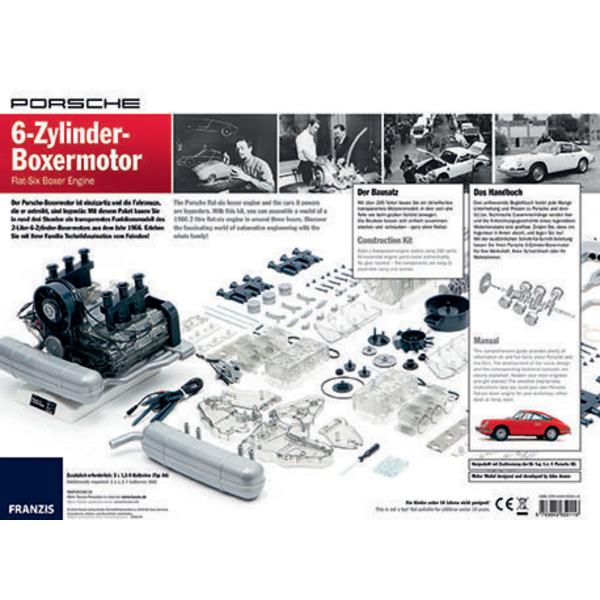 FRANZIS Lernpaket 6-Zylinder-Boxermotor