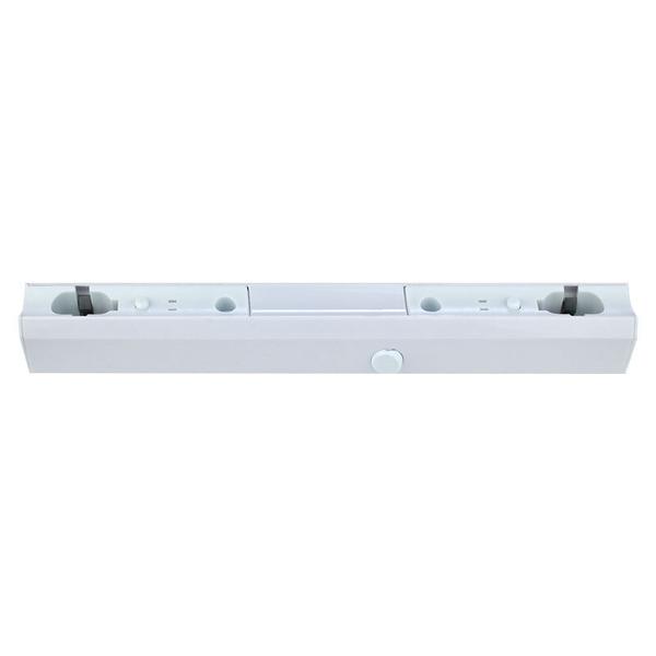 LEDmaxx Fassung für Linestra Linienlampen mit 2 Sockel S14s, 50 cm, weiß