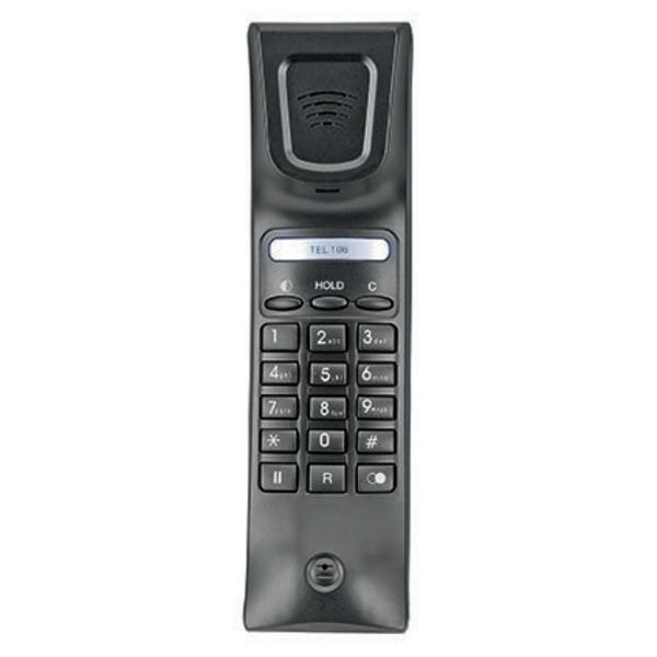 Audioline schnurgebundenes Kompakt-Telefon TEL 106, mit CLIP-Rufnummeranzeige