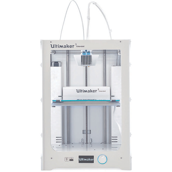 Ultimaker 3 Extended 3D-Drucker, Dual Extruder, WiFi, Fertiggerät