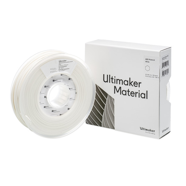 Ultimaker 3 ABS-Filament, 2,85 mm, 750 g, weiß
