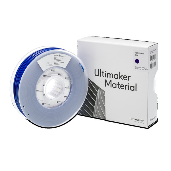 Ultimaker 3 ABS-Filament, 2,85 mm, 750 g, blau