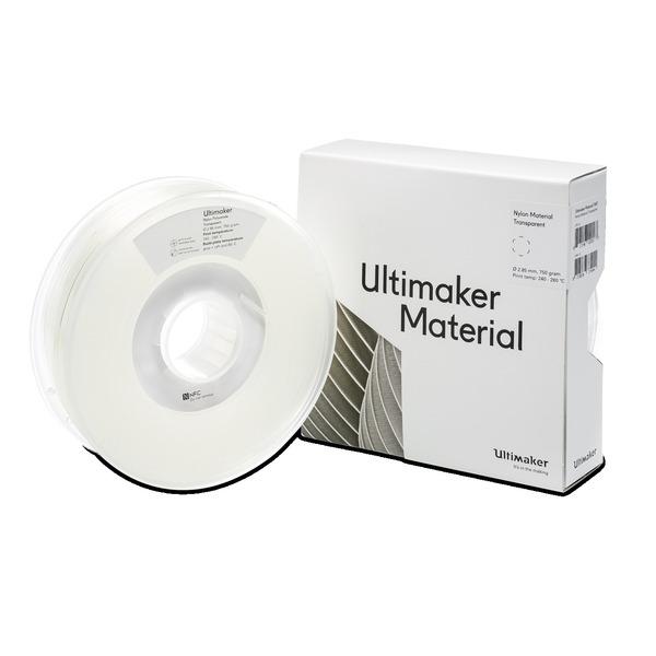 Ultimaker 3 PAX/Nylon-Filament, 2,85 mm, 750 g, transparent