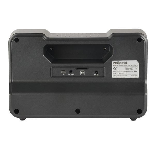 reflecta Film-Scanner Super 8 / Normal-8, CMOS, speichert auf SD-Karte, Vorschaudisplay 6 cm