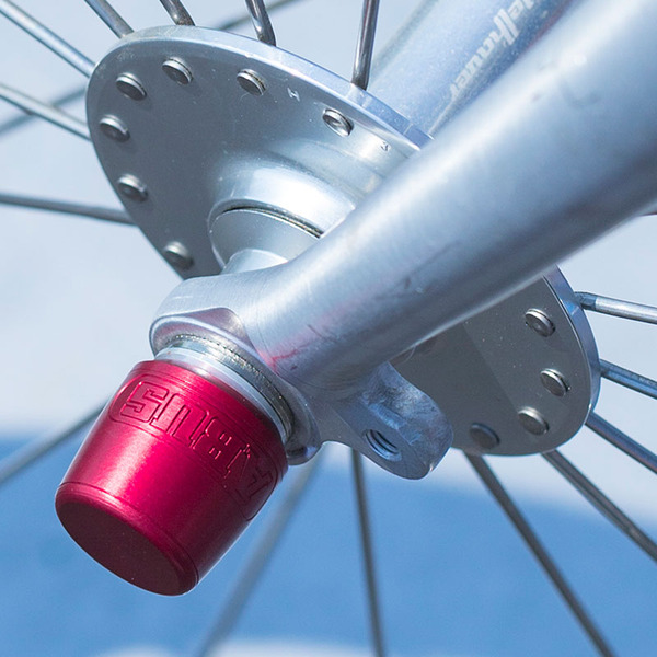 ABUS Nutfix Fahrrad-Laufrad-Schloss M9, rot