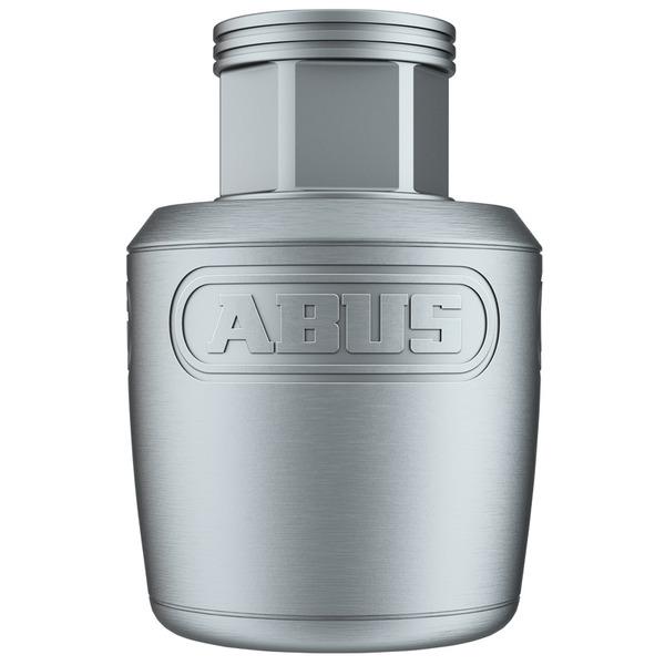 ABUS Abus NutFix SPC Fahrradsattel-Schloss M5, für 30 mm Sattelrohre, silber