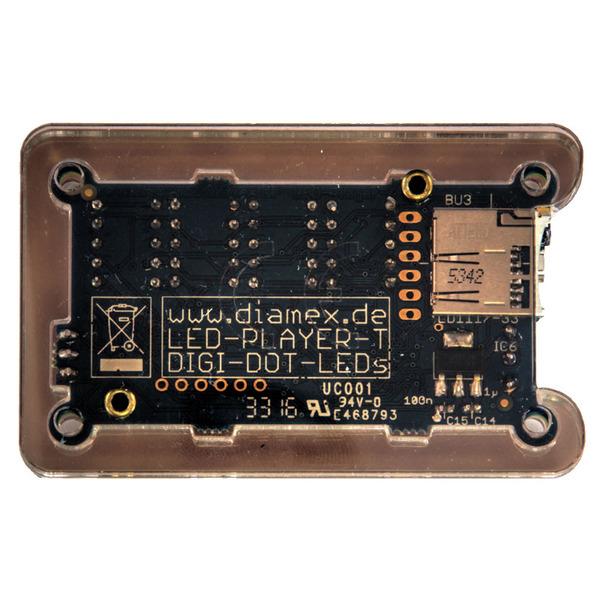 Diamex LED-Player T für WS2812-LEDs, inkl. Fernbedienung
